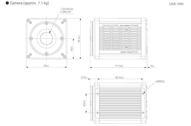 ORCA-Flash4 0 LT Digital CMOS camera > Hamamatsu | 매직트리 홈페이지