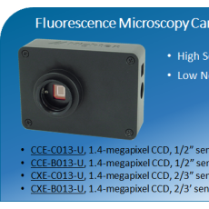 Mightex`s Fluorescence Microscopy cameara CXE-B013-U